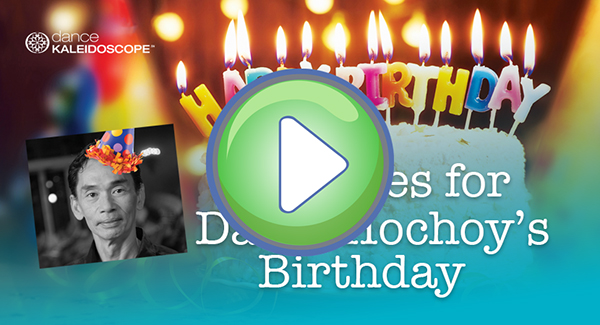 Birthday button video